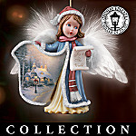 Thomas Kinkade Angelic Voices Victorian Christmas Ornament Collection