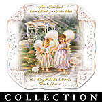 Dona Gelsinger Sisters Love Forever Collector Plate Collection