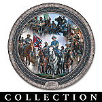 John Paul Strain's Leaders Of The Confederacy Collector Plate Collection