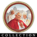 Pope John Paul II Collector Plate Collection