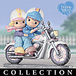 Precious Moments Two For The Road Biker Figurine Collection