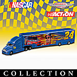 1:64 #24(R) Jeff Gordon NASCAR(R) Diecast Hauler Collection