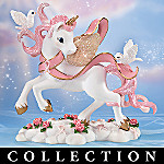 Messengers Of Hope Breast Cancer Awareness Unicorn Figurine Collection