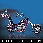 Cruisin' The Road Of Freedom Motorcycle Figurine Collection