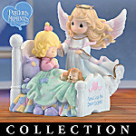 Precious Moments Bedtime Prayers Child And Guardian Angel Figurine Collection