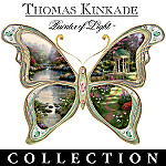 Thomas Kinkade On Wings of Beauty Porcelain Collector Plate Collection