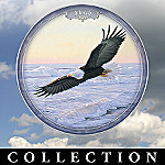 Majestic Sentinels Eagle Collector Plate Calendar Collection