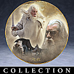 Lord Of The Rings Collector Plate Calendar Collection