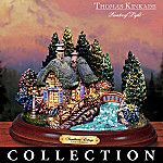 Thomas Kinkade Places In The Heart Collectible Cottage Figurine Collection