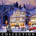 Norman Rockwell Collectible Christmas Village Collection