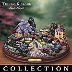 Thomas Kinkade Springtime Splendor House Collection