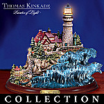 Thomas Kinkade Serenity On The Seas Collectible Lighthouse Figurine Collection