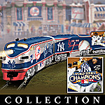 2009 MLB World Series Champions New York Yankees Train Collection