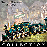 Thomas Kinkade Lamplight Village Express Electric Train Collection