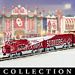 Oklahoma Sooners Express NCAA Football Train Collection