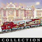 Collectible NFL Football San Francisco 49ers Express Electric Train Set Collection