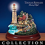 Thomas Kinkade Guiding Lights Lighthouse Figurine Collection