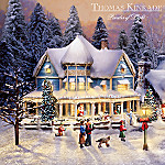 Thomas Kinkade's Collectible Village Christmas Collection