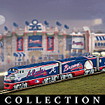 Atlanta Braves Express Major League Baseball Train Collection