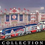 Boston Red Sox Express Major League Baseball Train Collection