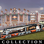 San Francisco Giants Express Major League Baseball Train Collection