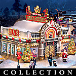 Elvis Rock And Roll Christmas Village Collection