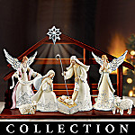 Silver Blessings Christmas Nativity Collection