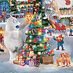 Rudolph The Red-Nosed Reindeer(R) Christmas Town Village Collection