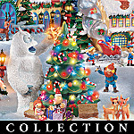 Rudolph The Red Nosed Reindeer� Christmas Town Village Collection: Christmas Home D�cor