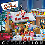 The Simpsons(TM) Christmas Village Collection: The Simpsons(TM) Christmas Home Decorations