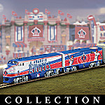 Anaheim Angels Express Major League Baseball Train Collection