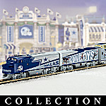 Collectible NFL Football Dallas Cowboys Express Electric Train Set Collection