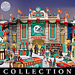 Miami Dolphins Collectible Christmas Village Collection