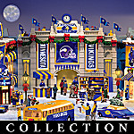 Minnesota Vikings Collectible Christmas Village Collection