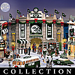New York Jets Collectible Christmas Village Collection