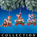 Pooh's Honeypot Express Disney Christmas Ornament Collection