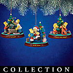 The Simpsons Illuminated Christmas Ornament Collection