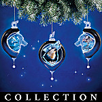 The Spirit Within Wolf Art Christmas Ornament Collection