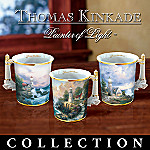Thomas Kinkade Seaside Mug Collection