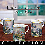 Thomas Kinkade Joys Of The Seasons Mug Collection