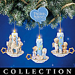Precious Moments Nativity Lights Christmas Ornament Collection