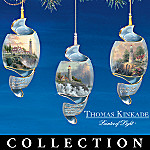 Thomas Kinkade Shoreline Splendor Ornament Collection