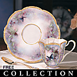 Lena Liu Enchanted Wings Collectible Teacup And Saucer Collection