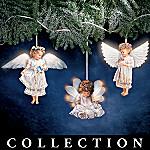 Heaven's Little Angels Ceramic Ornament Collection