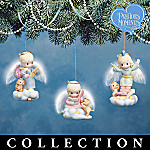 Precious Moments Life's Little Lessons Angel Christmas Ornament Collection