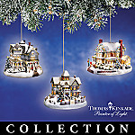 Thomas Kinkade Winter Memories Ornament Collection