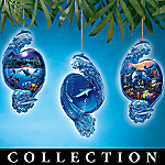 Underwater Life Christmas Ornament Collection