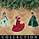 The Legendary Costumes of Scarlett O'Hara Ornament Collection