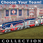 Pick Your Team! Major League Baseball(R) Train Collections