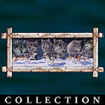 Love Of The Wolf Collector Plate Collection